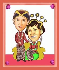 Undangan Pernikahan Tema Kalimantan